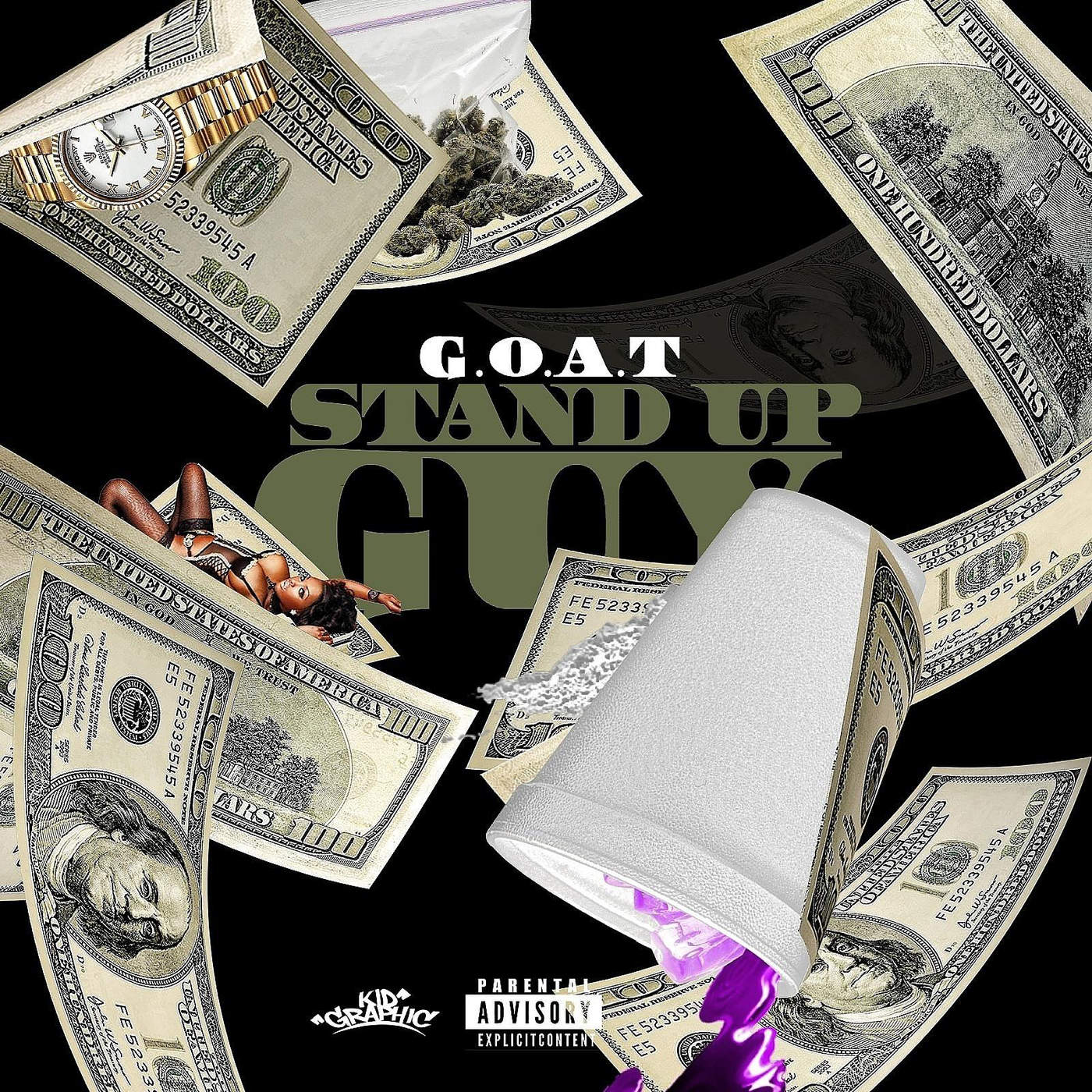 Goat - Stand Up Guy - Single Cover