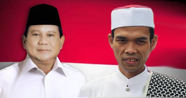 Sederet Keuntungan Prabowo Jika UAS Jadi Cawapres