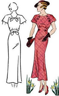 decades of style plus size 1930s dress sewing pattern