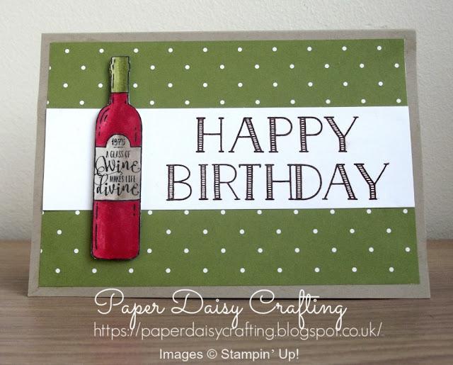 Birthday card with Half Full and Big on Birthdays