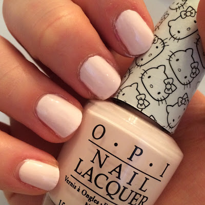 opi hello kitty swatch and review lets be friends