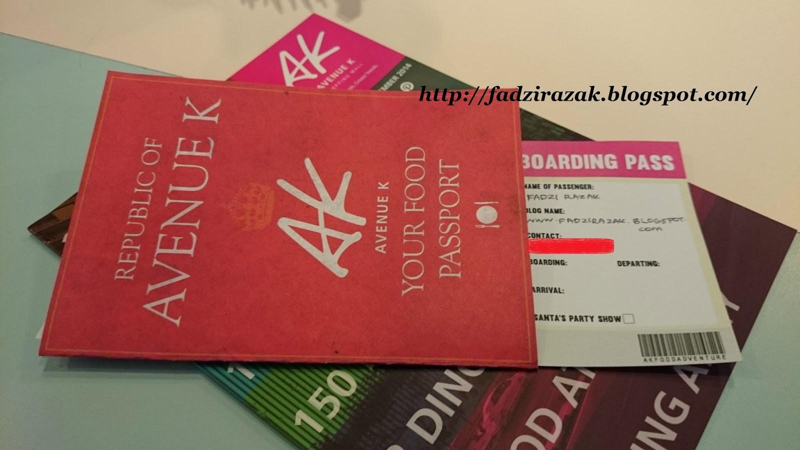 AK Food Adventure Passport