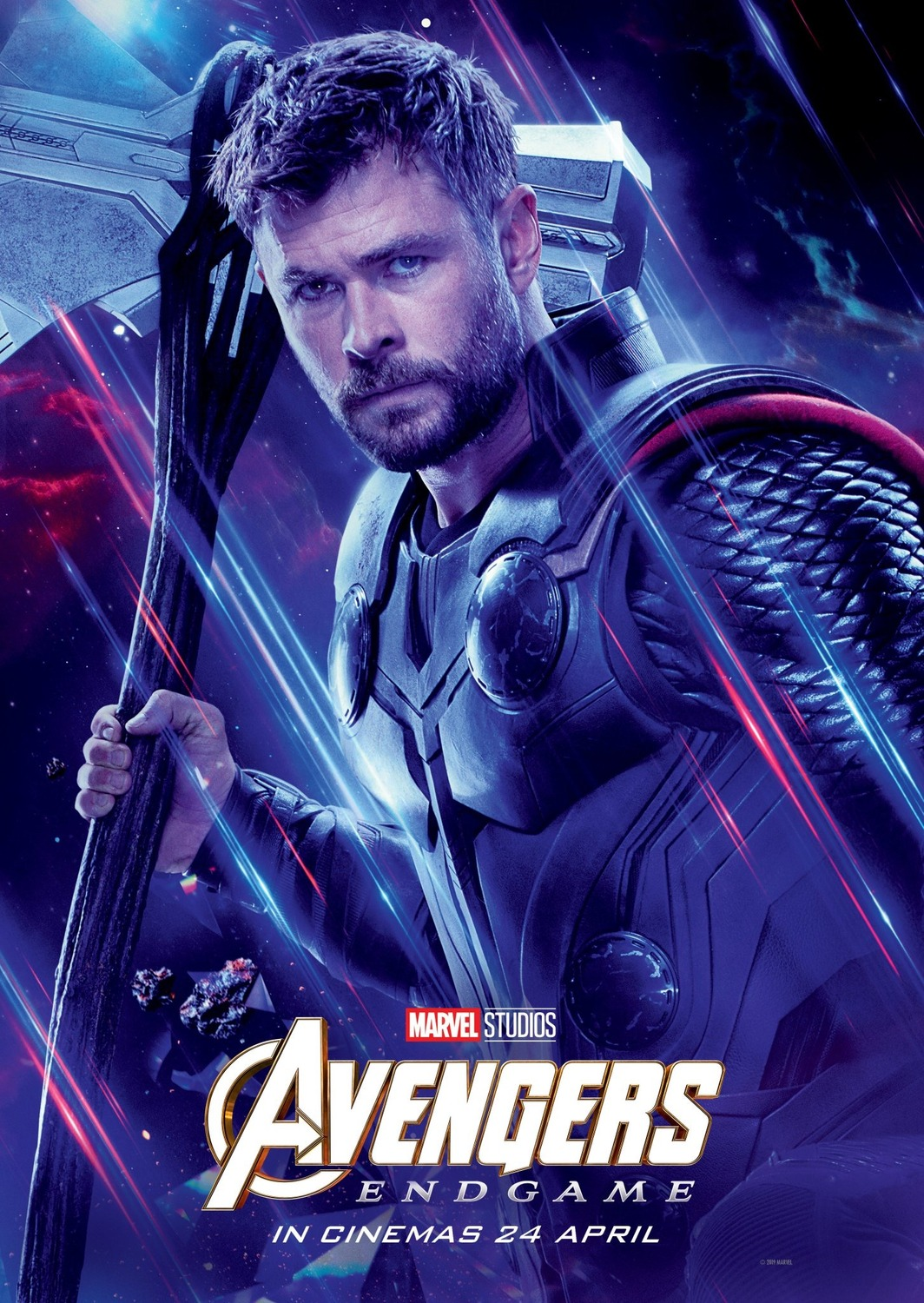 The Blot Says...: Avengers: Endgame Character Movie Poster Set