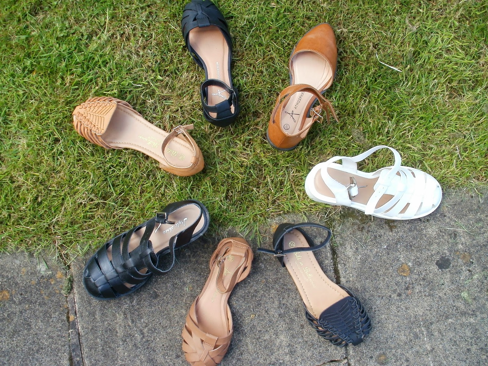 c60408da7eb Porcelain Eleanor: Shoes on a Shoestring #5 Sandals for Toe-a-phobes