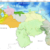 Actividad tormentosa y precipitación de intensidad variable sobre las regiones Zuliana y Sur