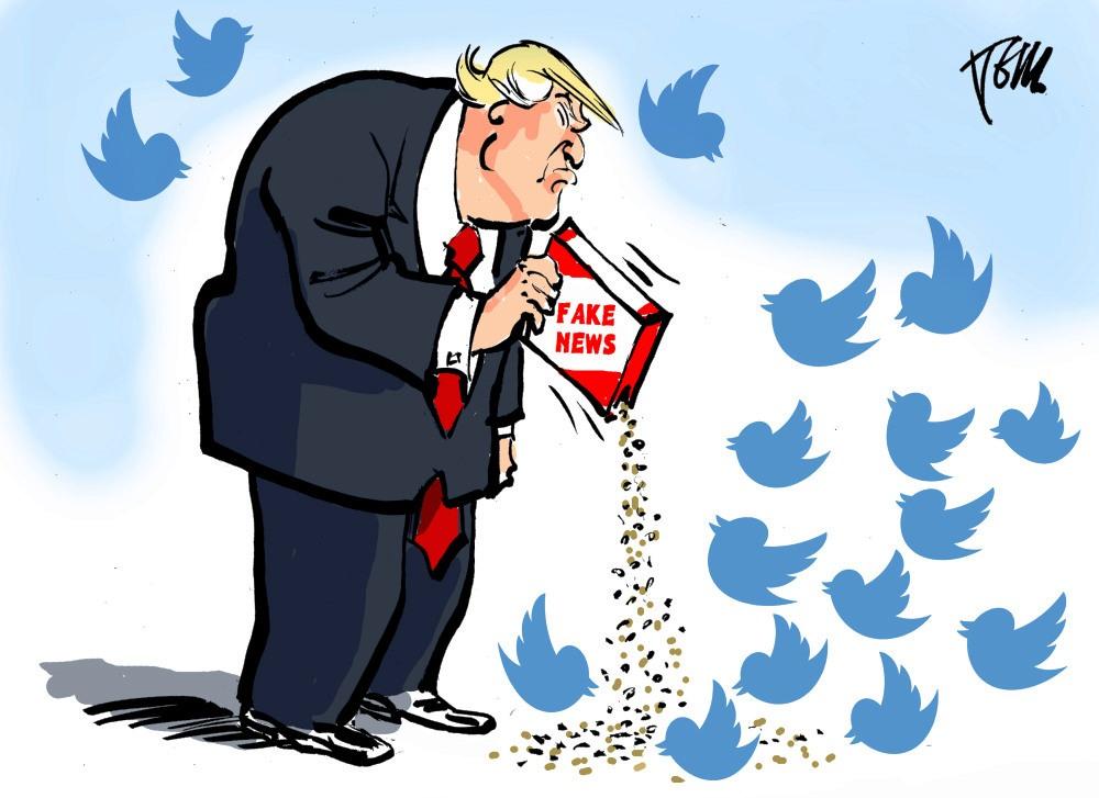 Fake News: Trump ha tuiteado falsedades en más de 150 ...