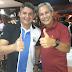 Amigos! Sikera Junior posta foto com Gernand Lopes