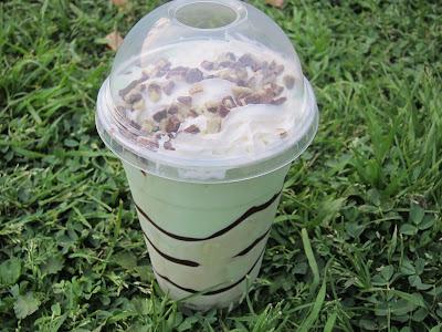 Chocolate Mint Shake Fast Food