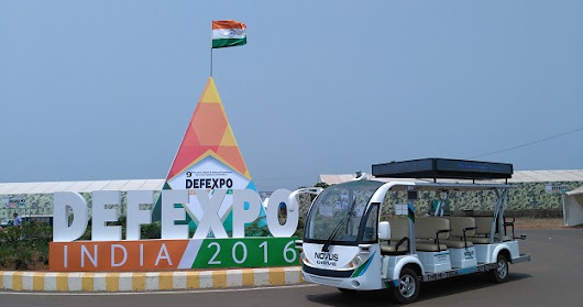 Driverless Shuttle Hogs The Limelight At Defence Expo 2016 | DP2Web