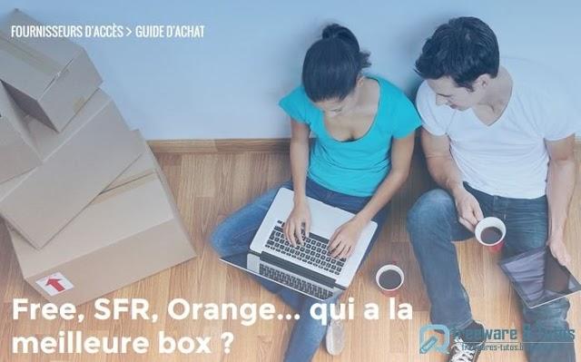 Le site du jour : quelle est la meilleure box internet ?