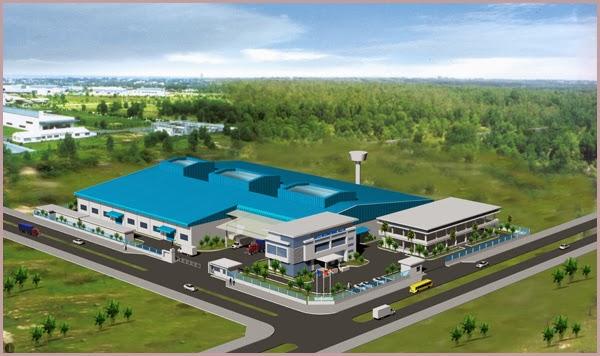 Dự án nhà xưởng Saitex  Amata Đồng Nai