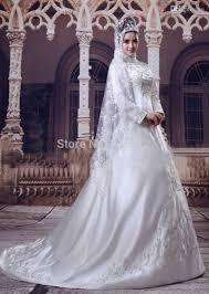 Desain Gaun Pengantin Muslimah Terindah Terbaru