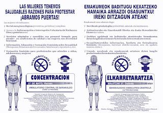Convocatoria de protesta feminista el 27 de mayo
