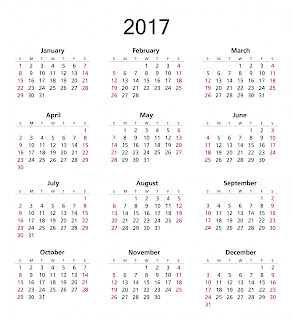 yearly calendar template 2017 simple to print with high quality Simple useful printable yearly calendar 2017 free annual 2017 calendar for print