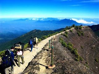 Beberapa Rute Jalur Pendakian Gunung Jawa Barat