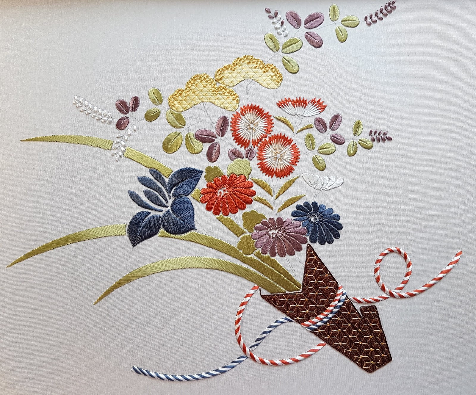 D1D2: Japanese Embroidery Phase 1 - Cords