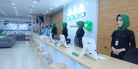 Alamat & Nomor Telepon Service Center Oppo Bekasi