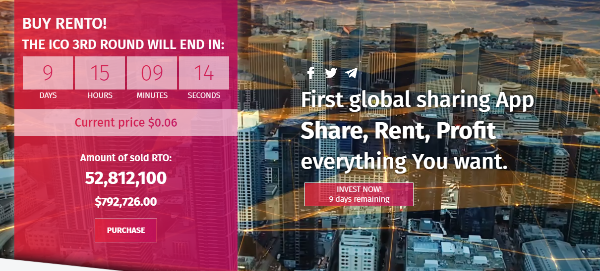 Rento – a Platform for Global Sharing Economy - altcoin99
