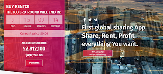 Rento – a Platform for Global Sharing Economy