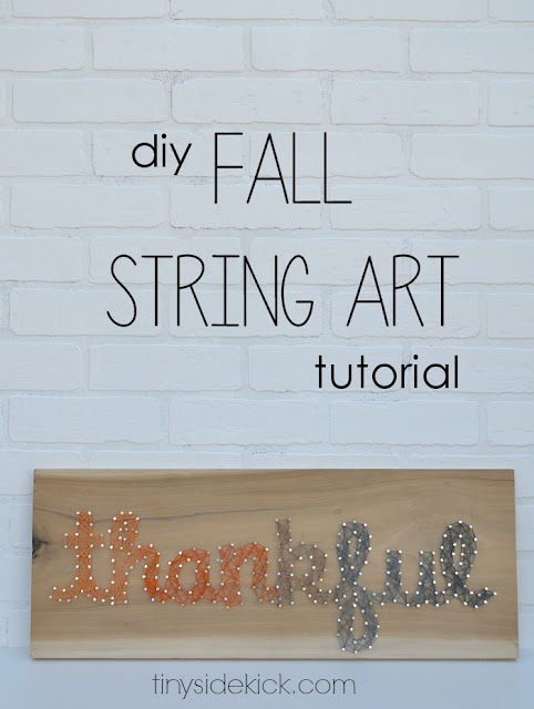 15 AWESOME Gratitude Filled THANKSGIVING DAY Ideas - STRING ART