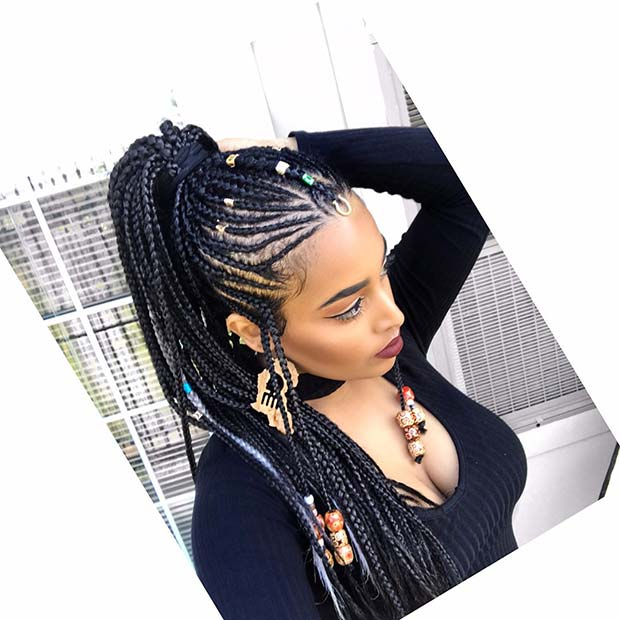 tribal braids hairstyles,tribal braids 2017,tribal braids updo,long tribal braids,tribal braids 2018,tribal braided hairstyles,tribal braids with beads 2017,african tribal braids,tribal braids black,tribal braids ponytail,braids with beads 2017,fulani braids,lemonade braids,tribal braids middle part,feed in braids,braids hairstyles 2018,braids and beads for adults,braids and beads pictures,hair braids with beads styles,tribal braids pinterest