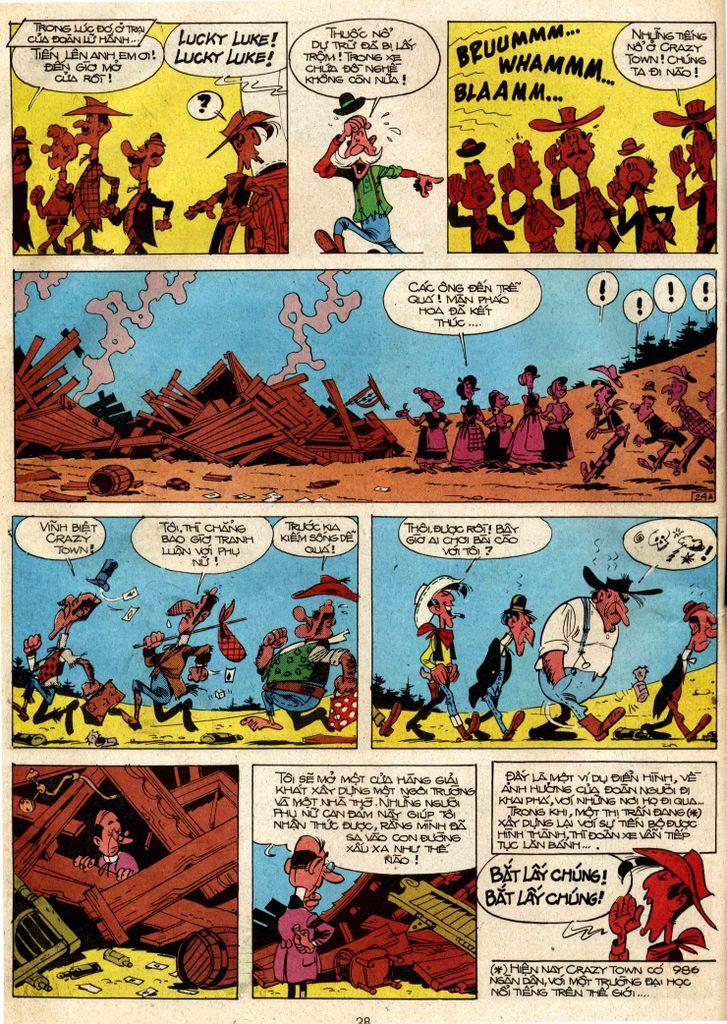 Lucky Luke tap 3 - doan lu hanh trang 23