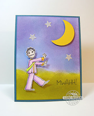 Mwahh card-designed by Lori Tecler/Inking Aloud-stamps and dies from The Cat's Pajamas