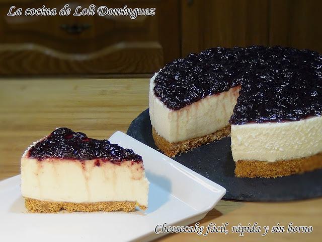 Cheesecake fácil sin horno