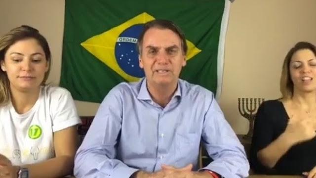 Bolsonaro estará nesta terça em Brasília pela primeira vez depois de eleito