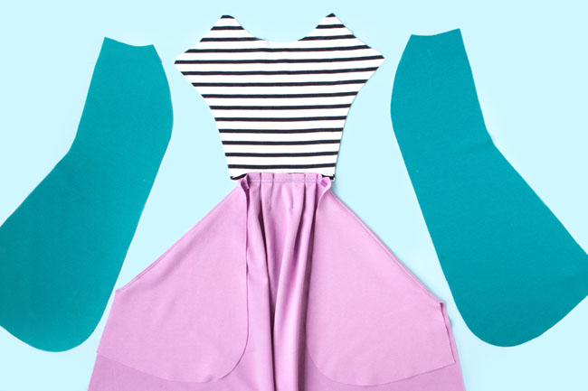 Sewing Zadie: Make the front dress - Tilly and the Buttons