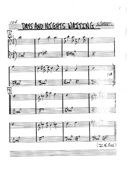 Partitura Violonchelo Keith Jarrett