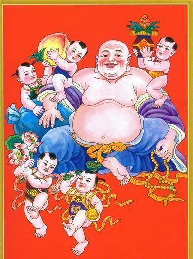 Vector Phật Di Lặc Tải Miễn Phí