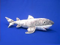 great white shark plush toy stuffed animal