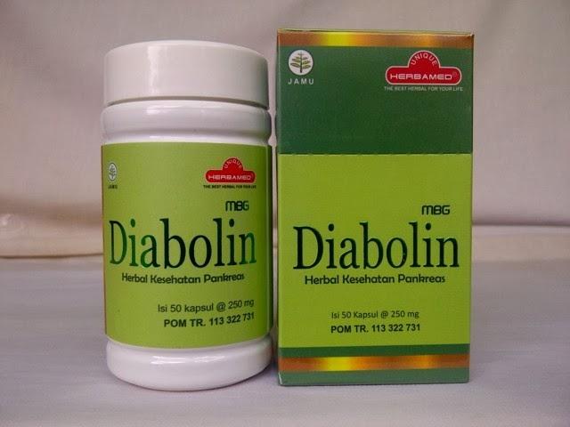 Salah satu materi produk herbal yang kami jual yaitu  Diabolin, Herbal Kesehatan Pankreas