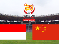 Indonesia vs Cina Pra Piala Asia 2015