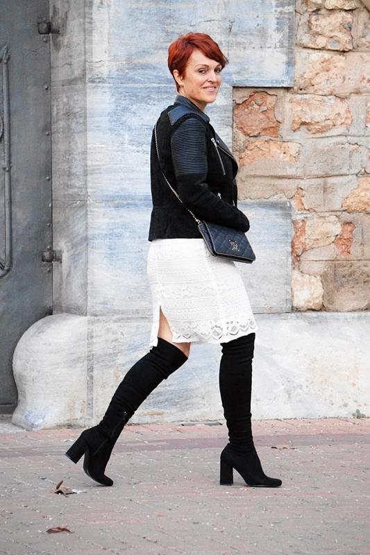 Almamodaaldia - Vestido Blanco Encaje