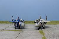 Galerie des F-15 Eggplane de la marque Hasegawa.