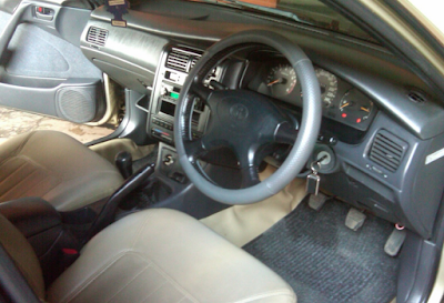 Interior Toyota Corona Absolute