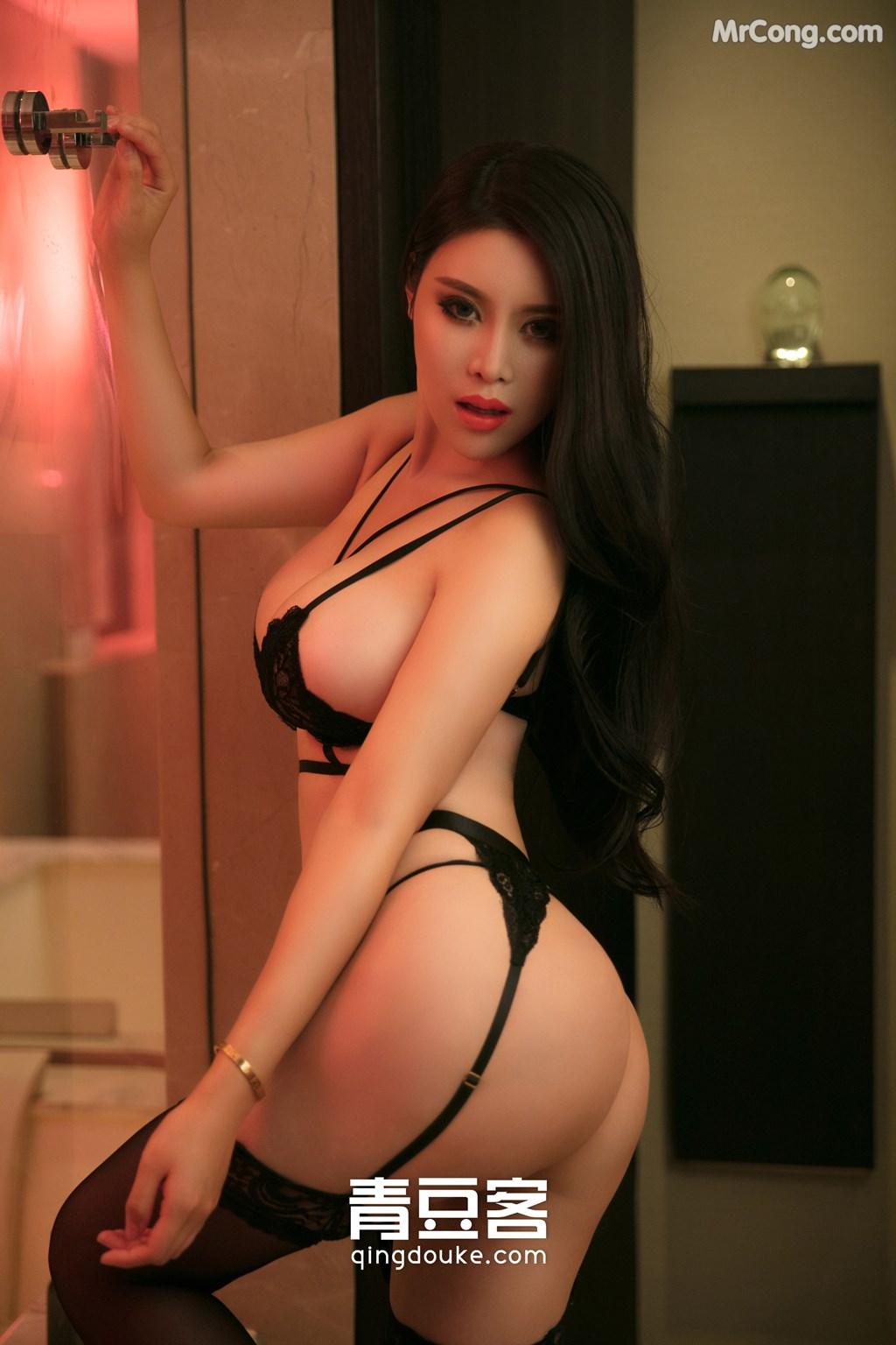 Image QingDouKe-2017-11-05-Ke-Rui-Na-MrCong.com-034 in post QingDouKe 2017-11-05: Người mẫu Ke Rui Na (可蕊娜) (48 ảnh)