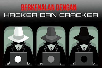 Cara mudah Membedakan antara Hacker dengan Cracker