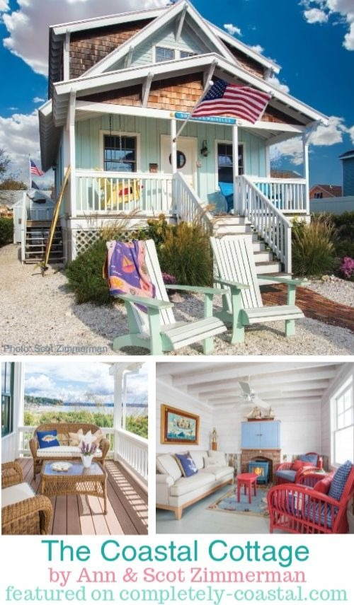 The Coastal Cottage Book | American Coastal, Nautical Beach Cottages