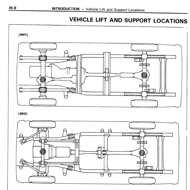 Repair-manuals: Toyota Truck & 4Runner 1985 Repair Manual