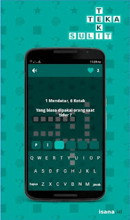 Teka Teki Sulit Android