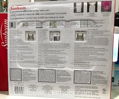 Costco 1193772 - Sunbeam Power Failure Night Light: night lights have never been this feature-rich