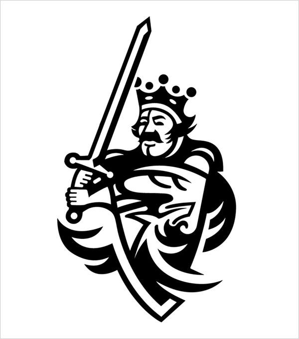 Contoh Desain Logo Negative Space - 33