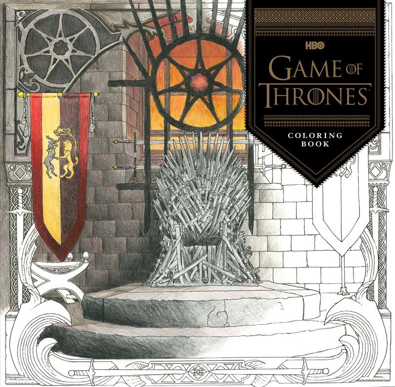 Vistazo al nuevo libro para colorear de Juego de Tronos ~ El Final ...