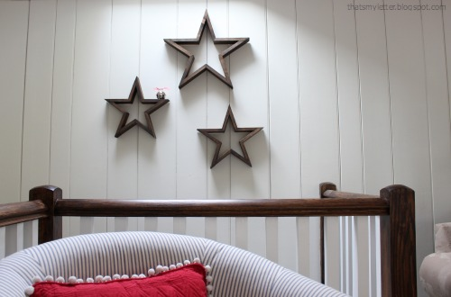 diy wood open stars
