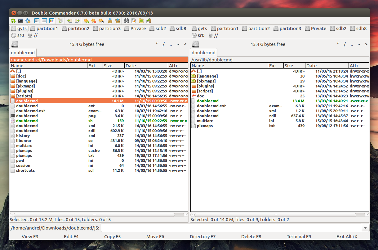 Dual-Panel File Manager `Double Commander` Sees New Release