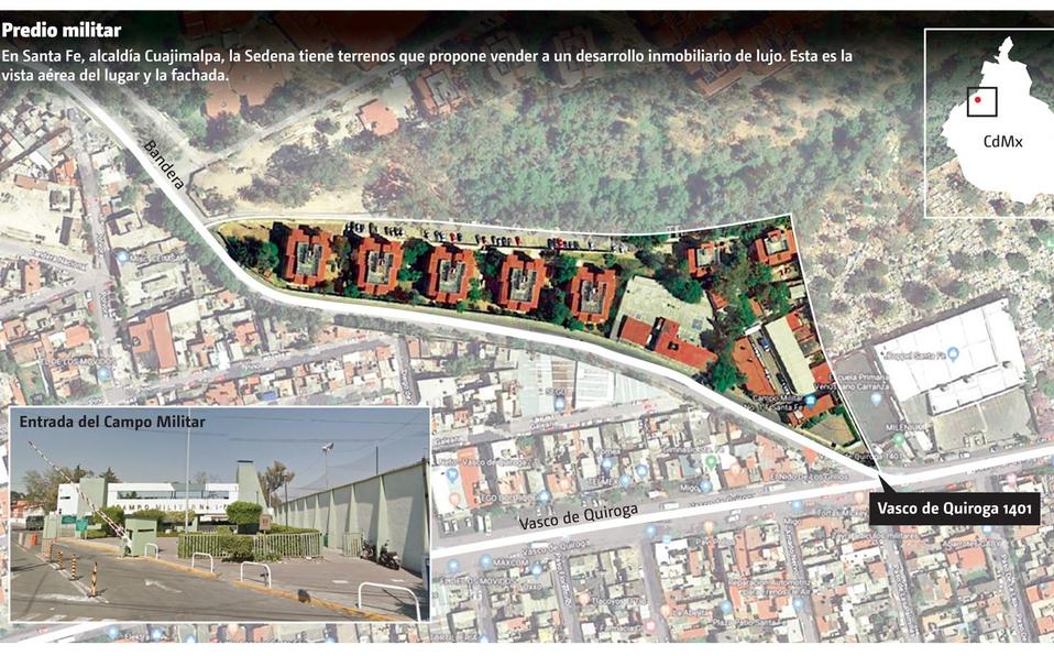 Sedena constructora, construirá departamentos de lujo en Santa Fe para financiar la Guardia Nacional: AMLO