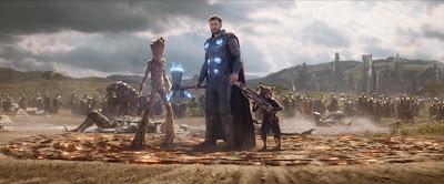 avengers 4 endgame thor infinity war entrance wakanda thanos